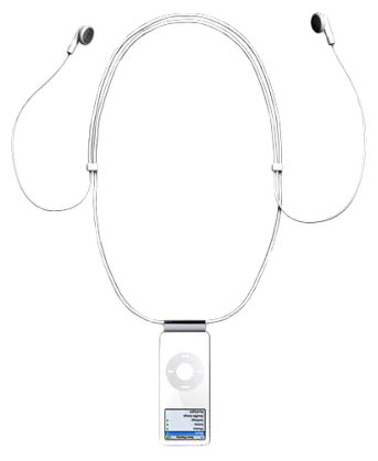 Apple iPod Lanyard Headphones MA093G/A